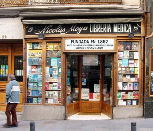 Caminando por madrid la librer a m s antigua for Libreria puerta del sol
