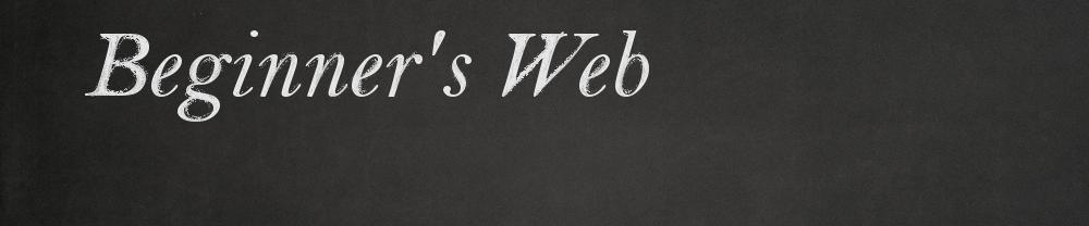 Beginner's Web