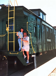 Piper and I at the Western Pacific Railroad Museum