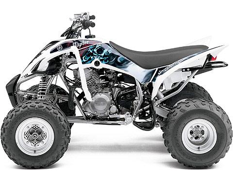 2013 Yamaha Raptor 350 ATV pictures. 480x360 pixels
