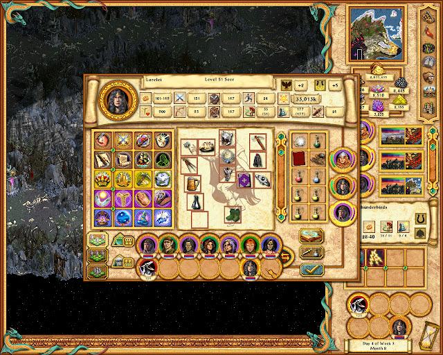 Heroes of Might and Magic 4 - Invincible Hero Description
