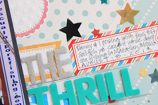 SRM Stickers - Labels Layout by Juliana - #layout #labels #summer #emboss #journaling