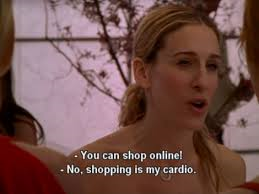 shoppig is my cardio ;)
