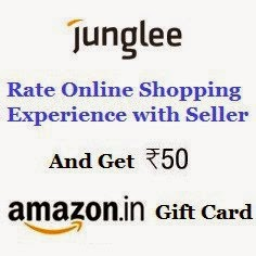 Junglee : Rate a seller and get free Rs 50 gift card from Amazon