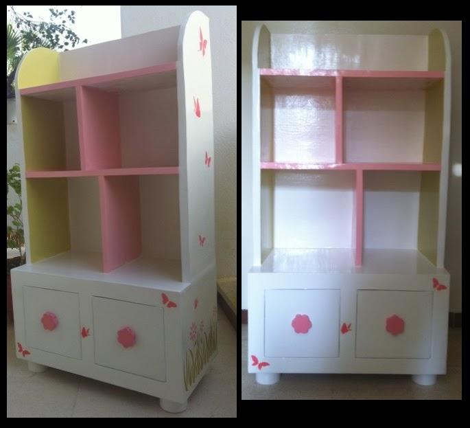 Création de meuble en carton