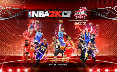 NBA 2K13 West All-Stars 2013 Startup Screen Mod