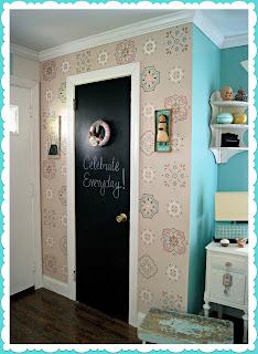 como fazer molde stencil pintar parede decoração