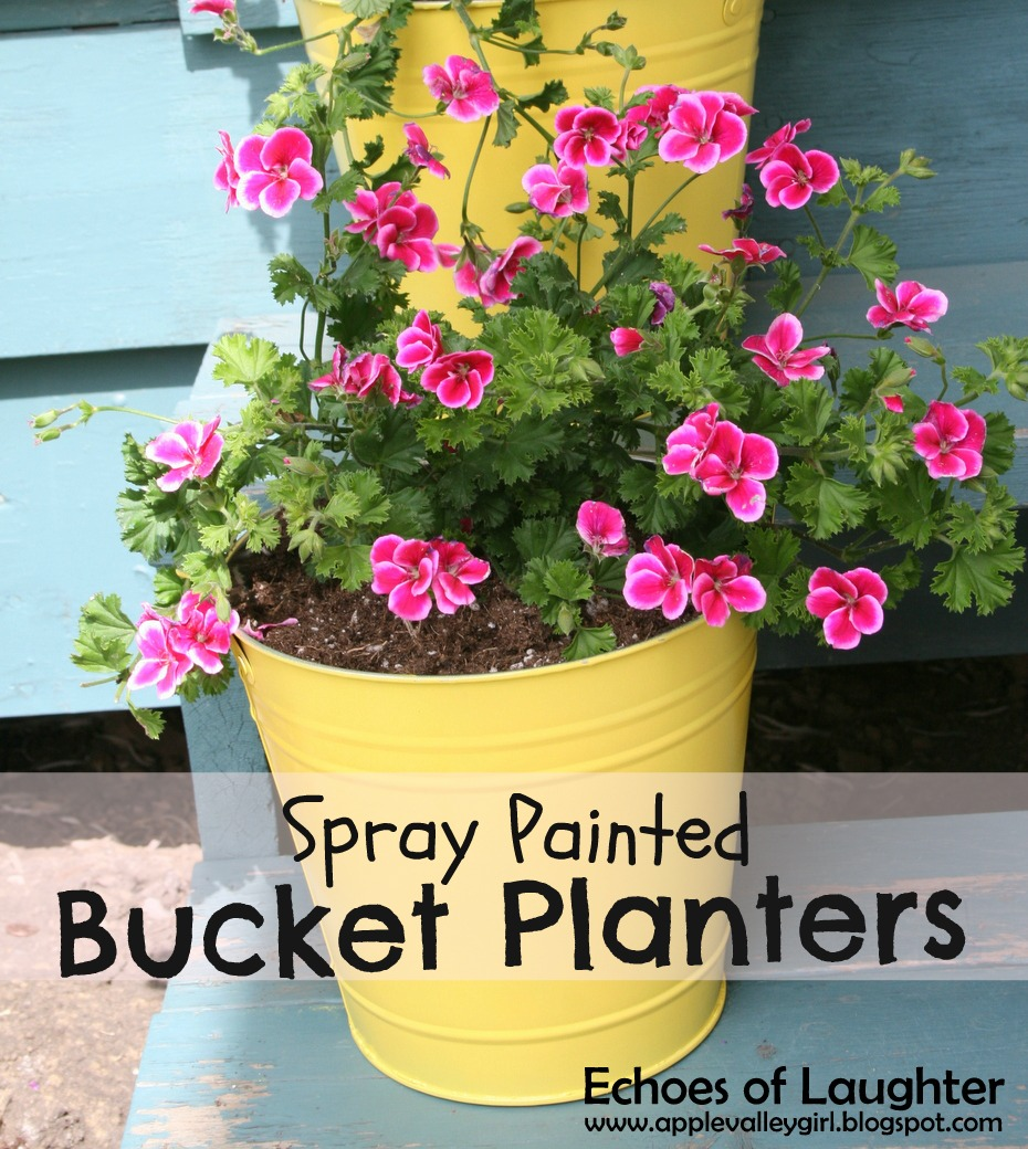 painted garden herb and planter with craft make labels spring planters labeled diy
