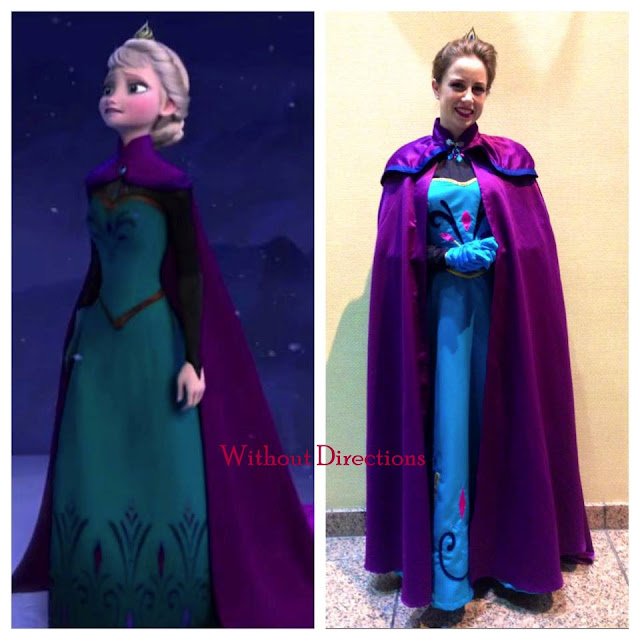 Elsa via Simplicity 1210