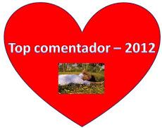 Prémio 'Top De comentadores 2012'