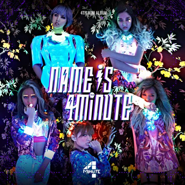 [Mini Album] 4minute – Name Is 4minute (2013)