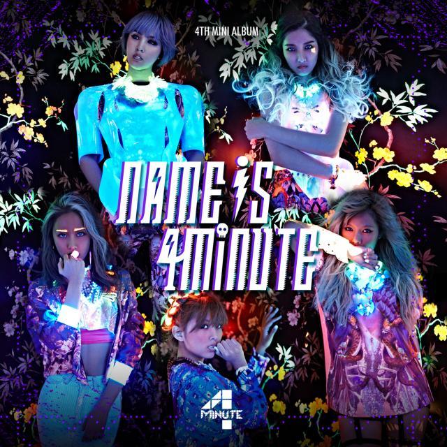 [Mini Album] 4minute – Name Is 4minute (2013)