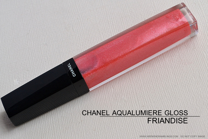 Chanel Friandise Aqualumiere Gloss Delices Makeup Collection Photos Swatches FOTD Review Indian Darker Skin Beauty Blog