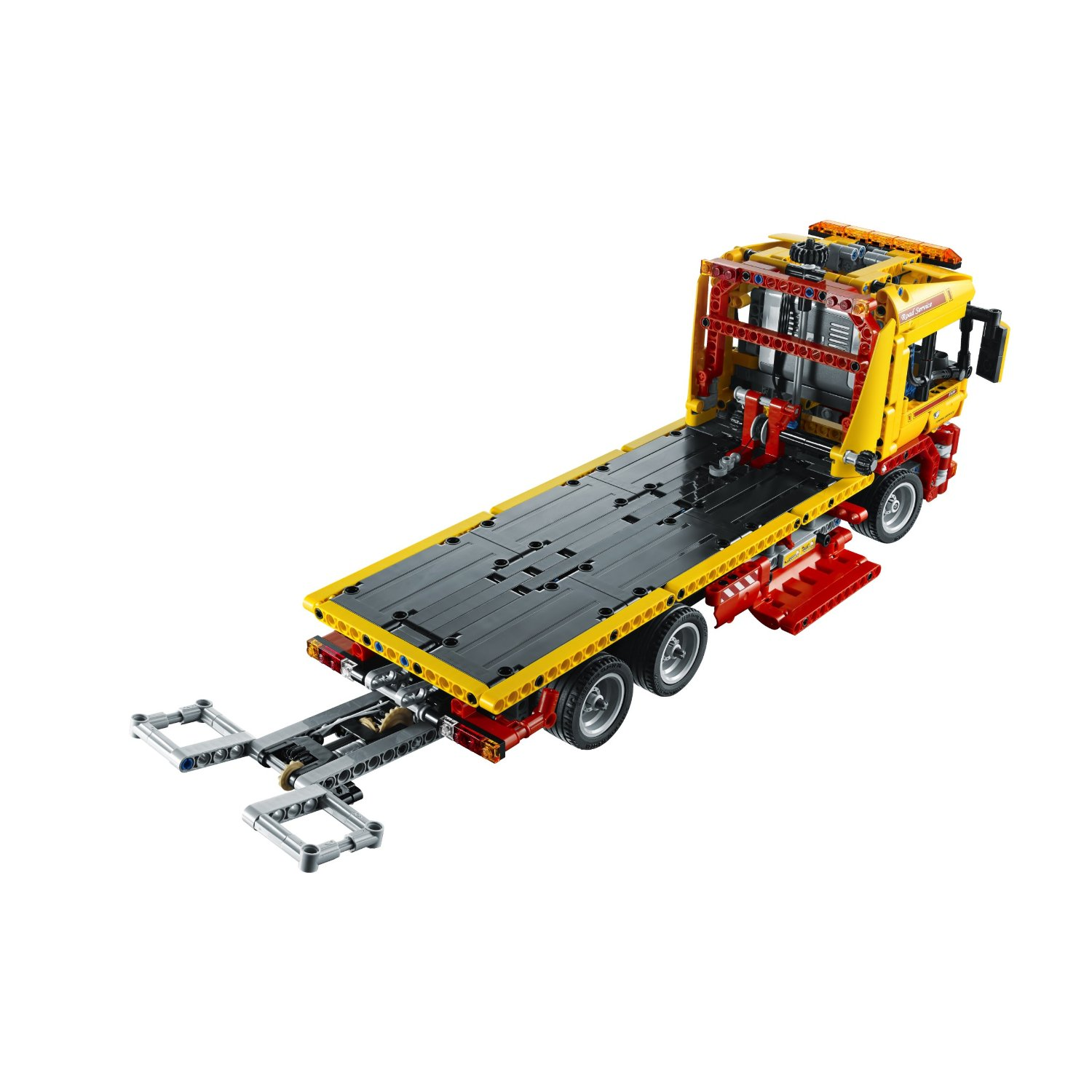 lego image lego technic flatbed truck 8109. Black Bedroom Furniture Sets. Home Design Ideas