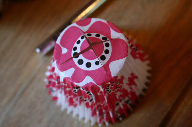 manualidades lamparas cupcakes