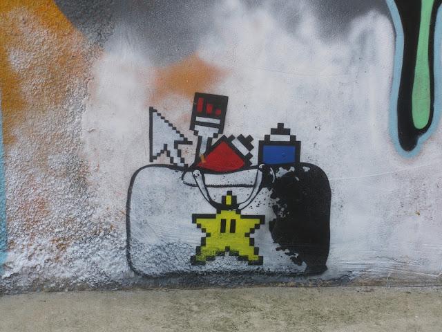 Camden Town Street Art star