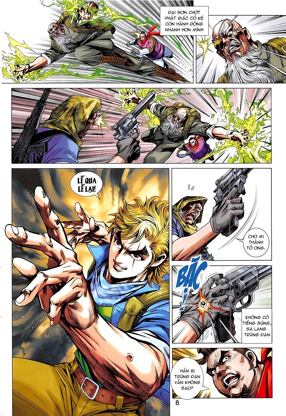 Tân Tác Long Hổ Môn chap 793 Trang 8 - Mangak.info