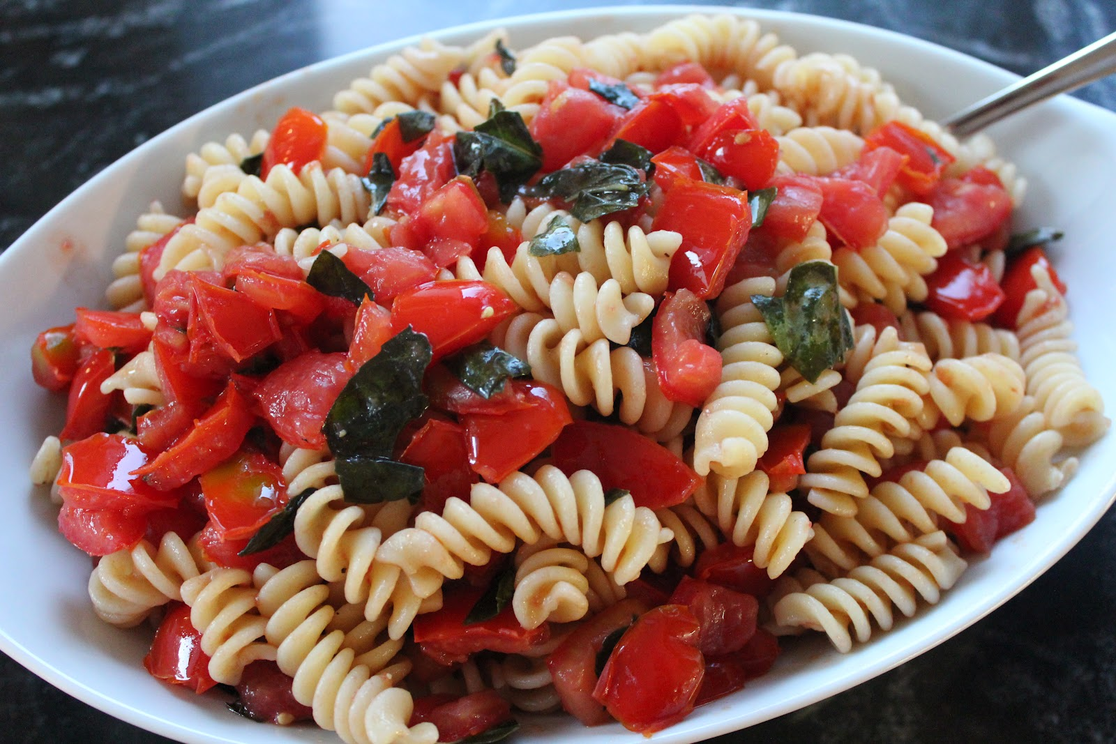 Delicious Dishings: Grilled Balsamic Chicken With Fusilli ...