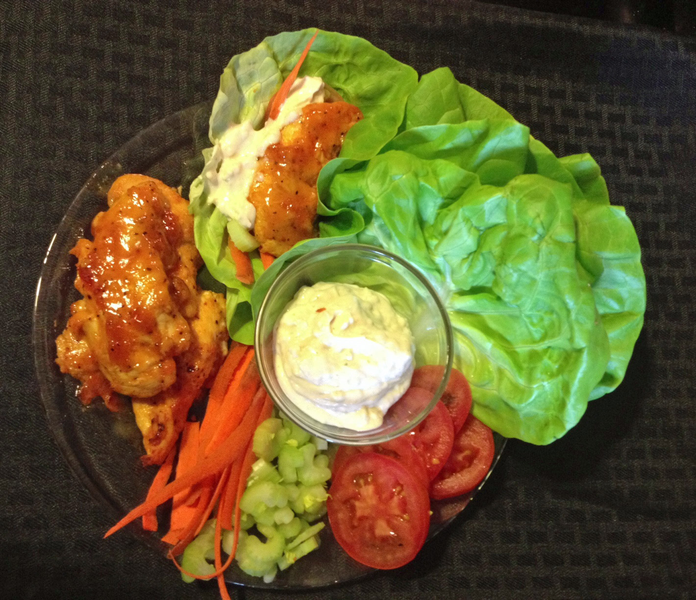 ... Dairy-Free Diva: Dairy and Gluten Free Buffalo Chicken Lettuce Cups