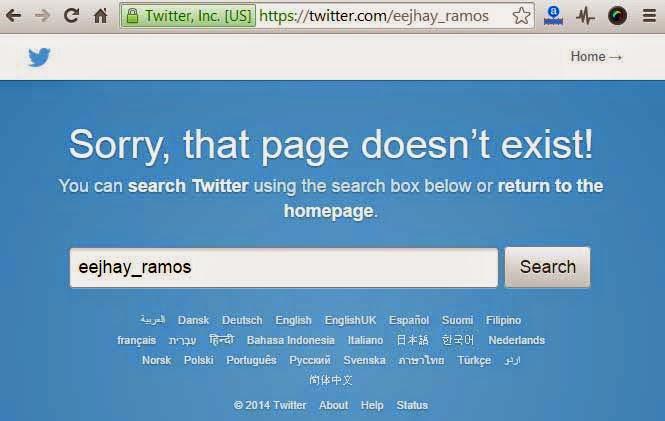 AJ Ramos Quits Twitter