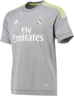 Jersey Real Madrid Away 2015/2016