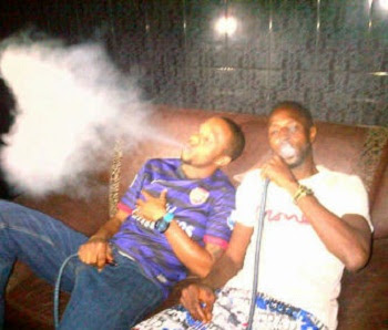 sunkanmi omobolanle smoking pipe