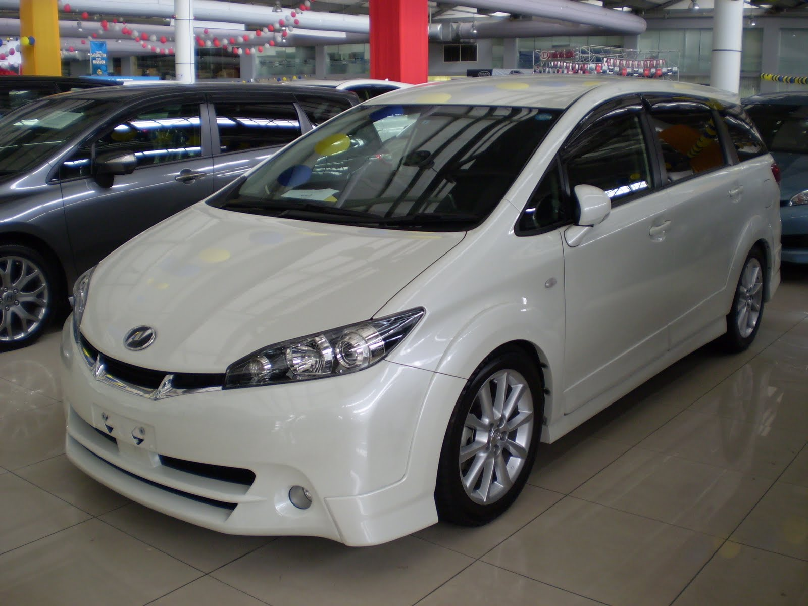 Toyota wish 2 0 1 8 valve matic cvt 7 speed gear