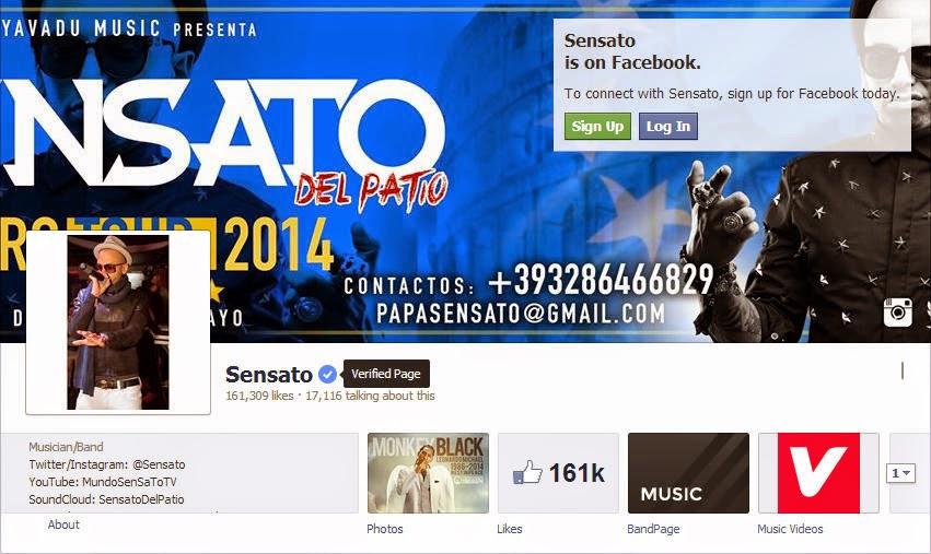 """NOTI-URBANA - Artista urbano """"Sensato"""" se ha convertido en el primer artista urbano Dominicano en tener una cuenta verificada en Facebook."""
