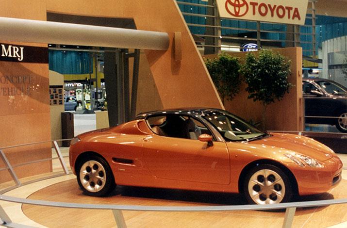 Toyota, roadster, sportowy japończyk, historia, powstanie, koncept, prototyp, wczesna wersja, wizja, MR-J