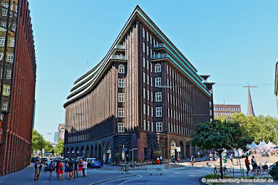 Chilehaus im Kontorhausviertel in Hamburg