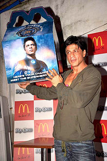 Shah Rukh Happy Meal