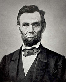 Abraham Lincoln, USA:s 16:e president Mördad 1865