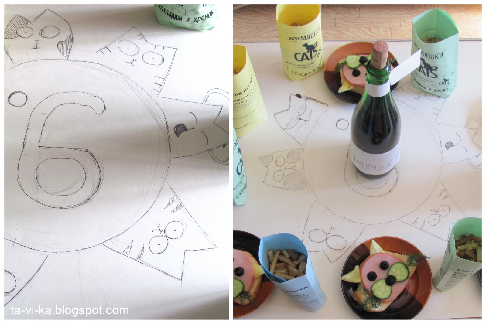 Как сделать детский коктейль
