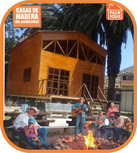 Casas de madera belleza natural para vivir - Casas de madera para vivir ...