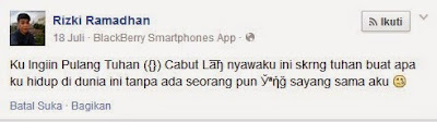 "Hati-hati UCAPAN ADALAH DOA ""Kisah Nyata Meninggal Setelah Nulis Status Di FB !!!"""