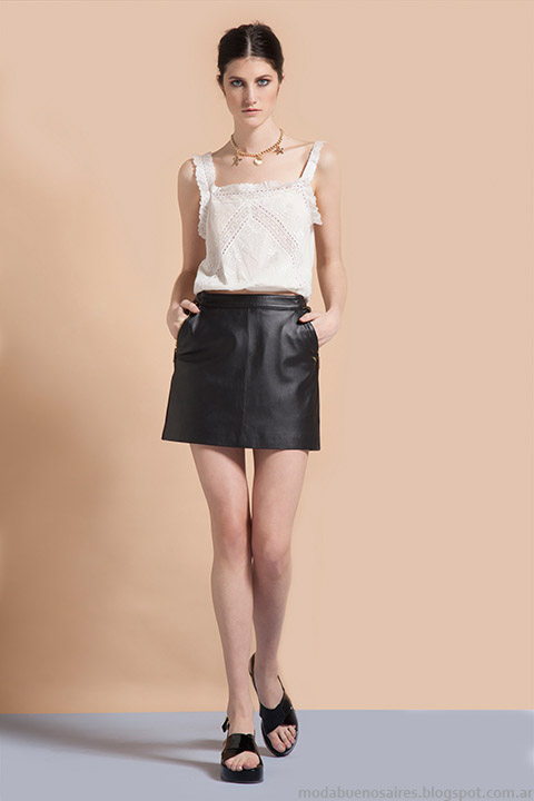 Vero Alfie 2015. Faldas de  moda 2015.