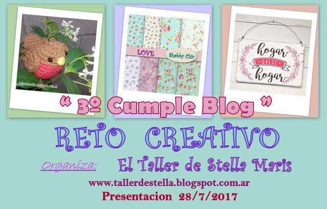 Reto Creativo de Stella Maris! Presentacion 28/07/17