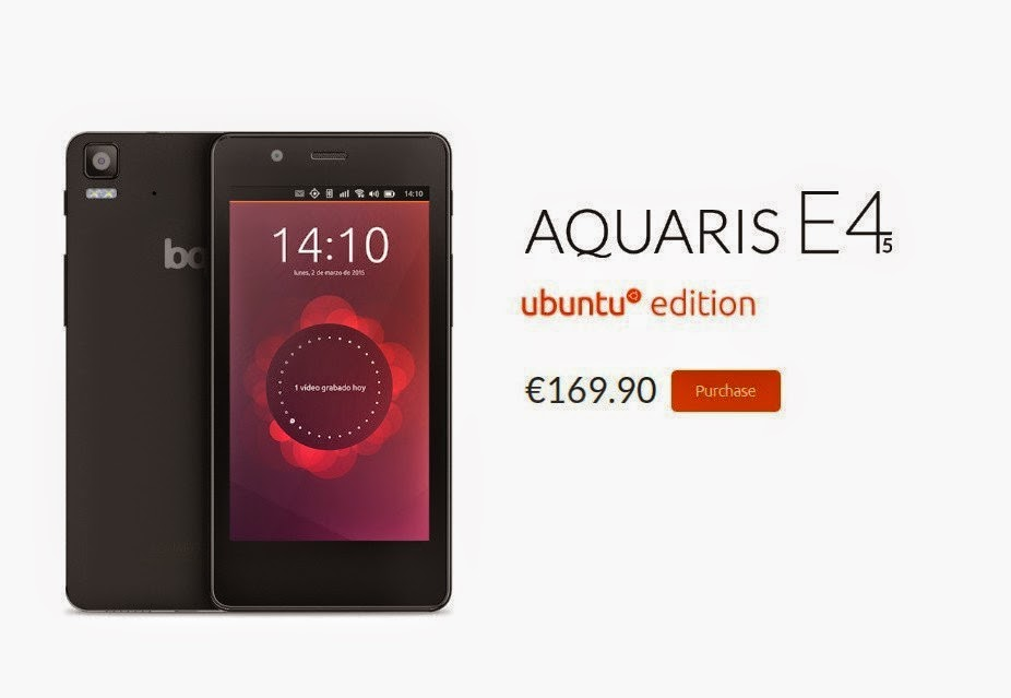 Ubuntu Phone Aquaris