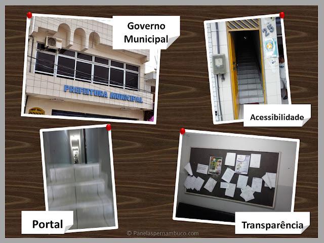 Prefeitura de Panelas: O mural da vergonha no caminho do fracasso