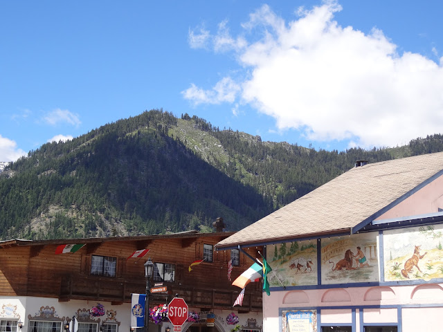 Leavenworth, WA mountains