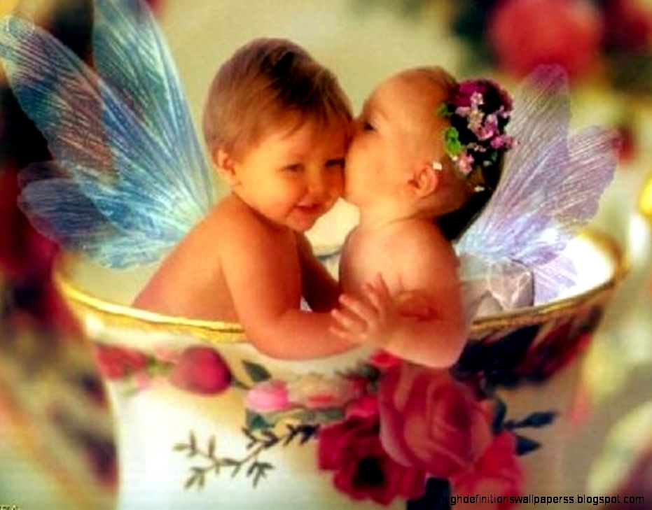 Kiss For Babies Wallpapers Hd