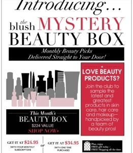 Blush Mystery Beauty Box