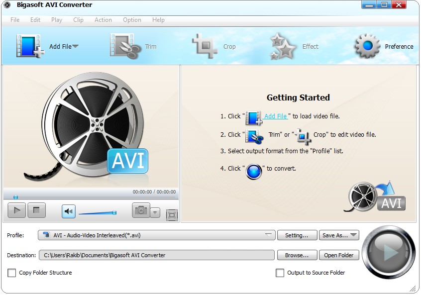 Bigasoft avi converter v3.7.43.4881 with key tordigger