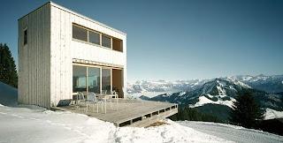 Chalet suizo contemporáneo
