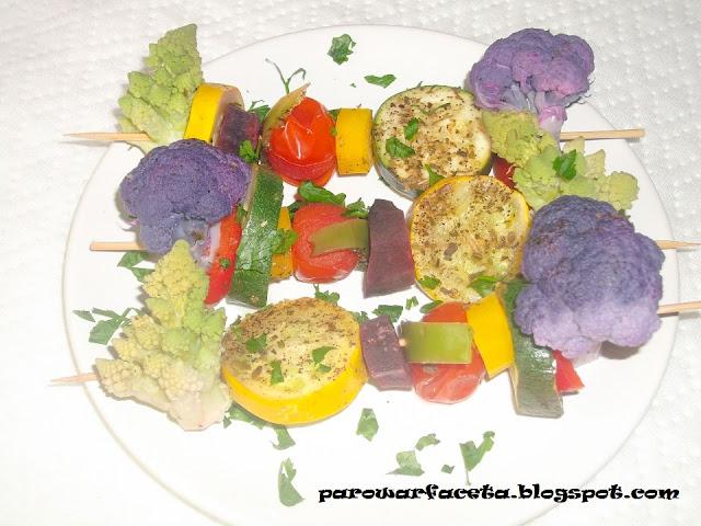 warzywa z parowaru