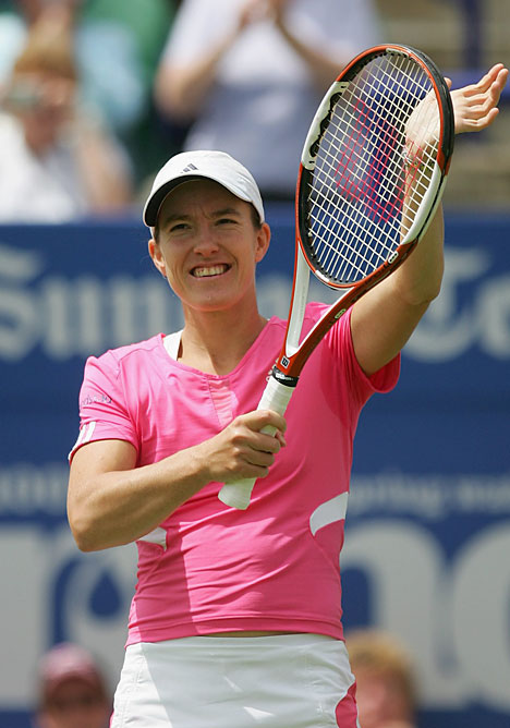 TENNIS Justine Henin Profile And Images