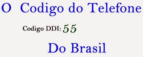 Código Telefone Brasil – Descubra o código do Brasil