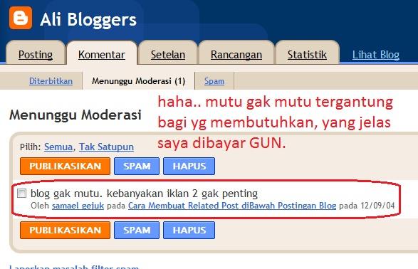 blogger gak mikir