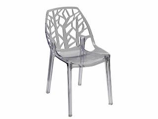 silla plastico, silla metacrilato