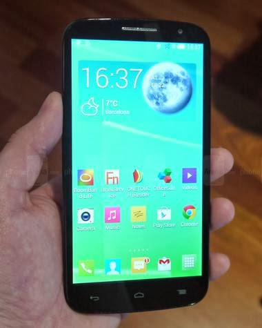 Alcatel OneTouch Pop S9, 6-inch LTE Phablet